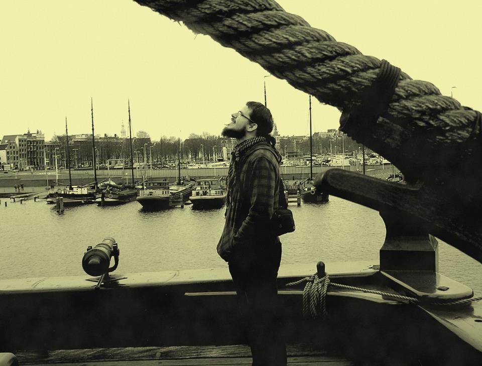 Martin Štubňa v Amsterdame