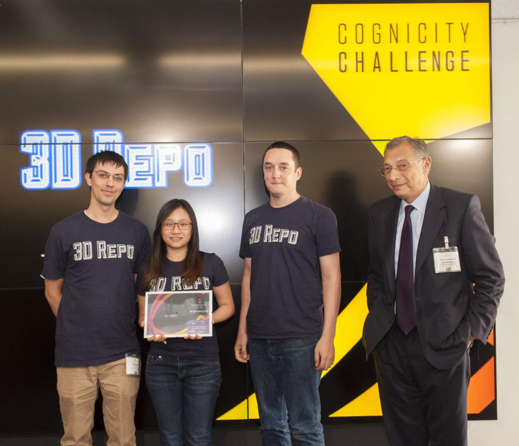 Cognicity Challenge Cohort 3 Showcase Event, Level 39, Canary Wharf, London.