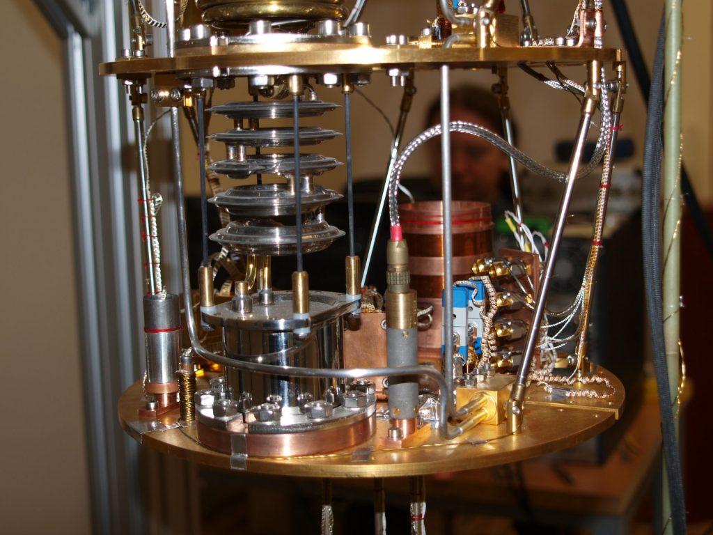 vnútro suchého refrigerátora- experimentálna platňa