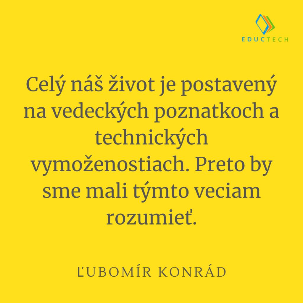 ľubomír konrád citát